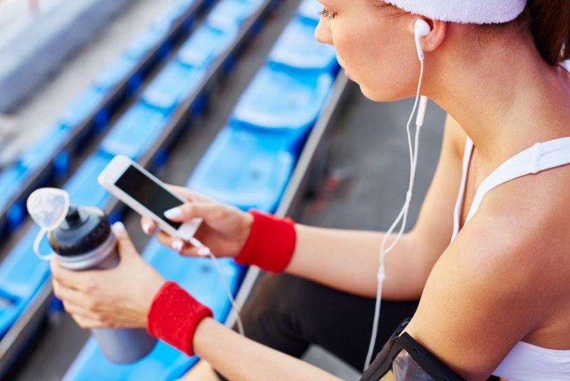Ohhoo! Muusika aitab trennis paremaid tulemusi saavutada