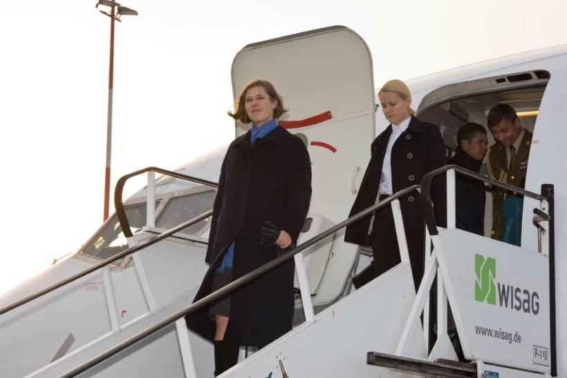 FOTOD VISIIDIST | President Kaljulaid kohtus Berliinis Saksa riigipeaga