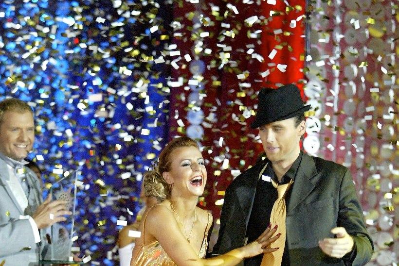 """Kümme aastat esimesest saatest """"Tantsud tähtedega"""". Mart Sander magas lava all pohmelli välja, esimene võitja Mikk Saar tantsib veel vaid sõprade seltskonnas"""