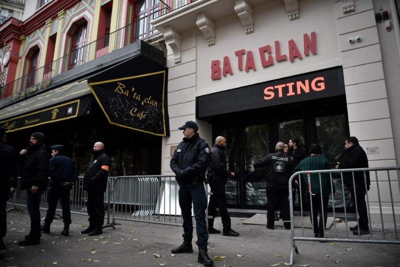 AASTA VERESAUNAST | Sting avab Pariisi Bataclani kontserdimaja