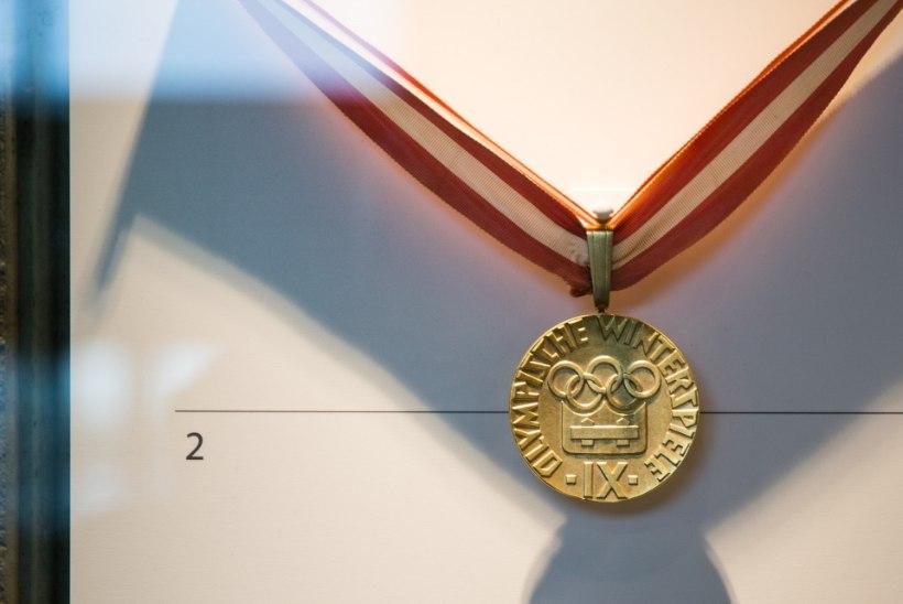 Ants Antsoni olümpiakuld särab nüüdsest kõigi huviliste pilgu all