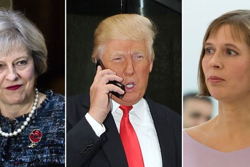 Briti satiiriportaal: Donald Trump küsis Theresa May'lt Eesti presidendi telefoninumbrit
