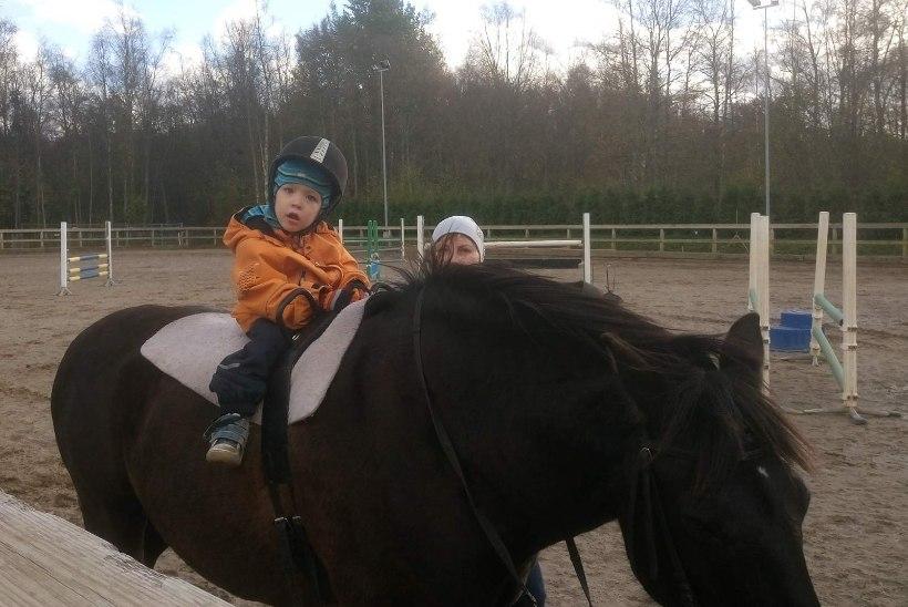 Sünnitraumaga kaksikud saavad tänu heldeile toetajaile ratsutamisteraapiat
