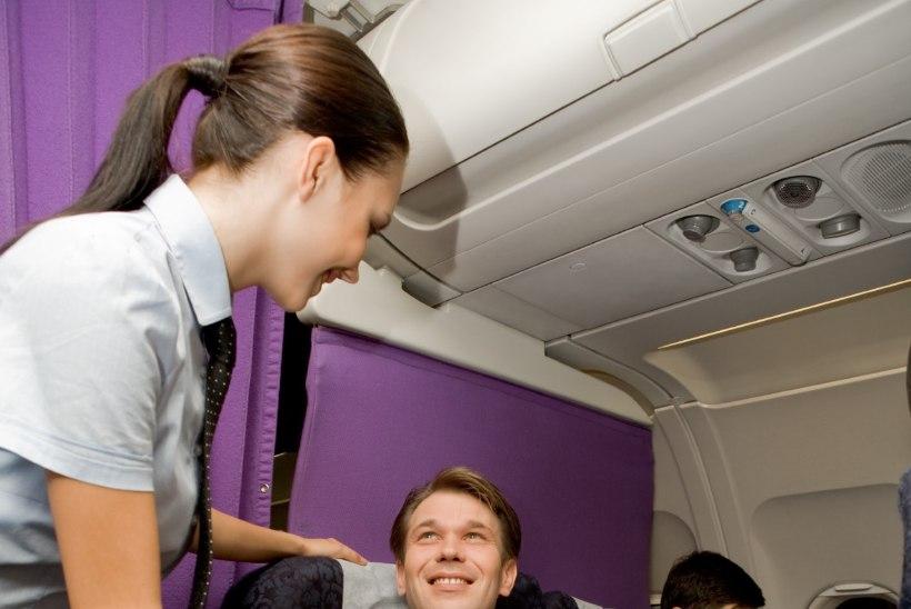 Mis teeb reisijad lennu ajal kõige õnnelikumaks?