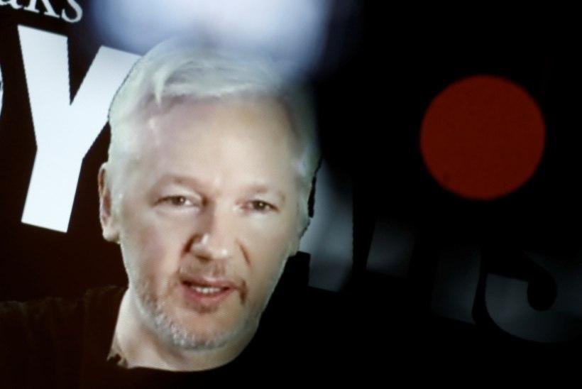 Julian Assange annab Equadori saatkonnas aru Rootsi peaprokurörile