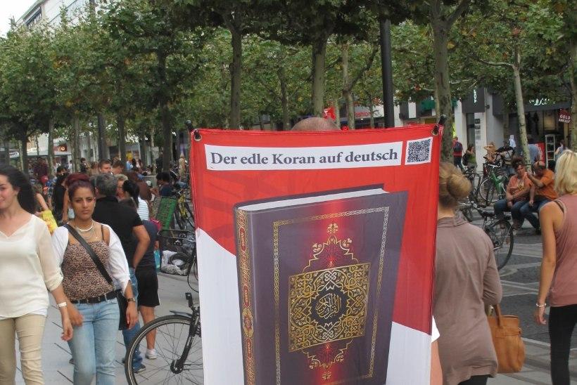 SAKSLASTEL SAI MÕÕT TÄIS: islamiäärmuslaste ühendus keelustati