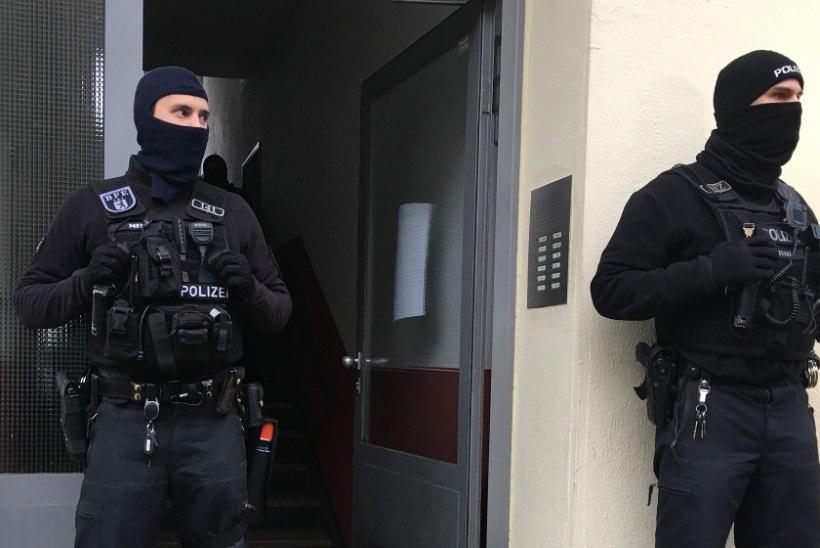 Saksa politsei puistas hiigelhaarangul islamiäärmuslasi
