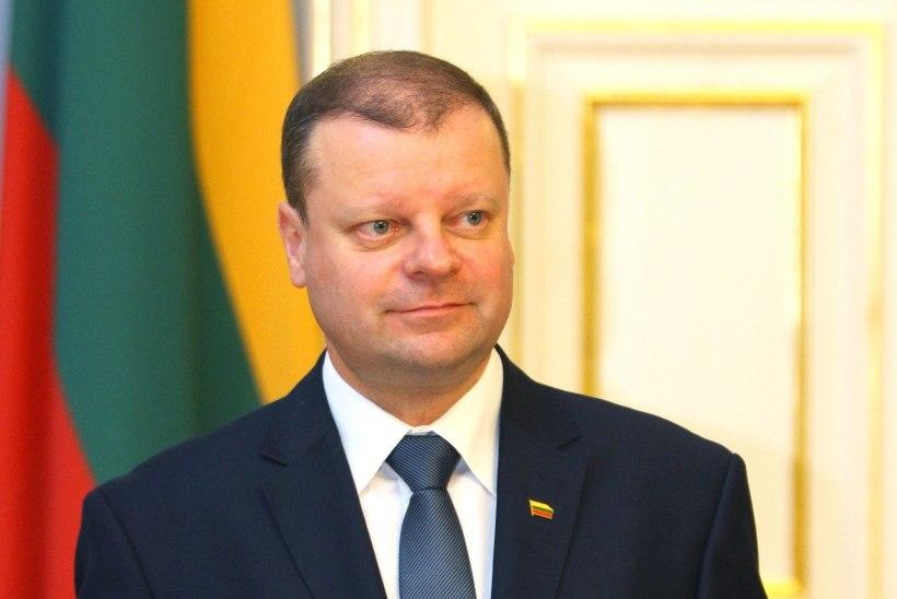Leedu president esitas peaministri kandidaadiks Saulius Skvernelise