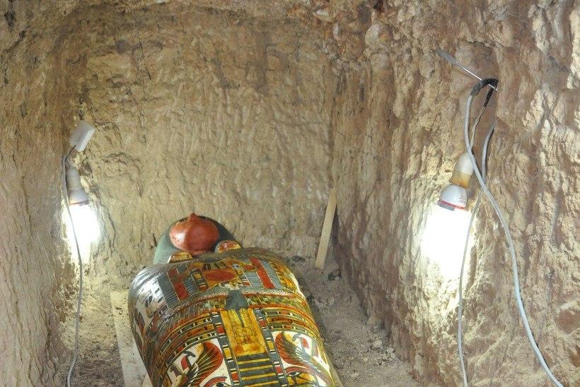 FOTOD | Egiptusest leiti ülihästi säilinud 2500 aasta vanune muumia