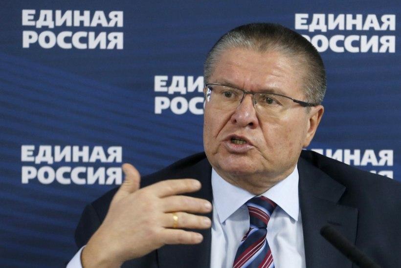 Altkäemaksu küsinud Vene majandusminister võeti kinni