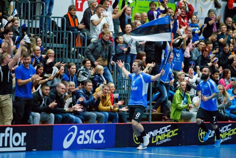 Eesti saalihokikoondisesse nimetati Riia MMiks rekordarv väliseestlasi
