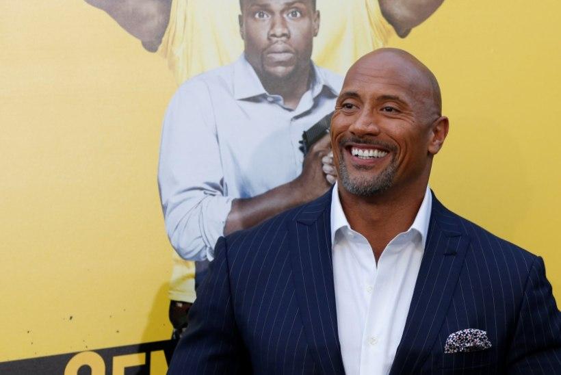 "Maailma seksikaim mees on Dwayne ""The Rock"" Johnson"