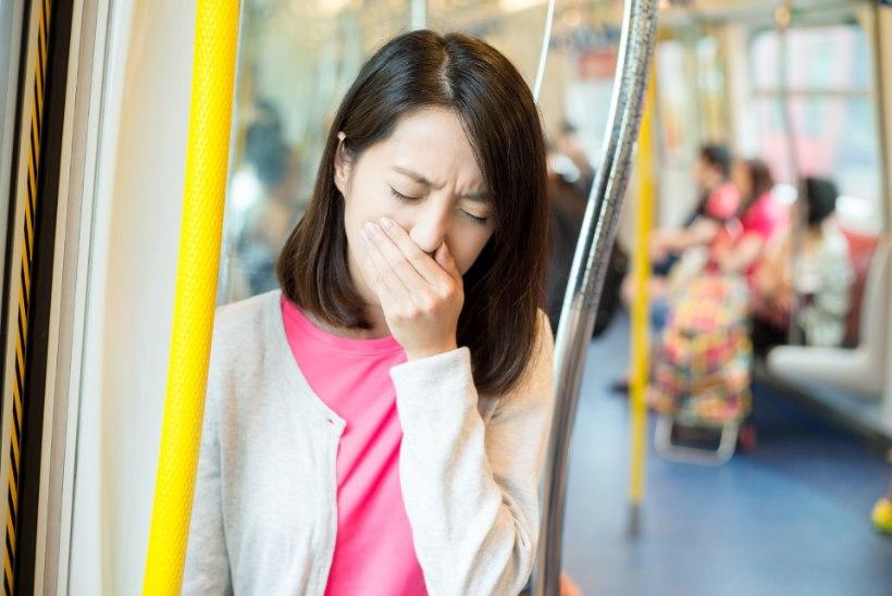 Ohhoo! Hommikuses bussis on väiksem tõenäosus grippi haigestuda