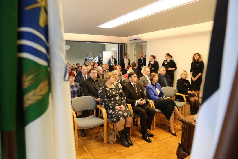 FOTOD | Kaljulaid kohtus Jõgevamaa Gümnaasiumi õpilastega