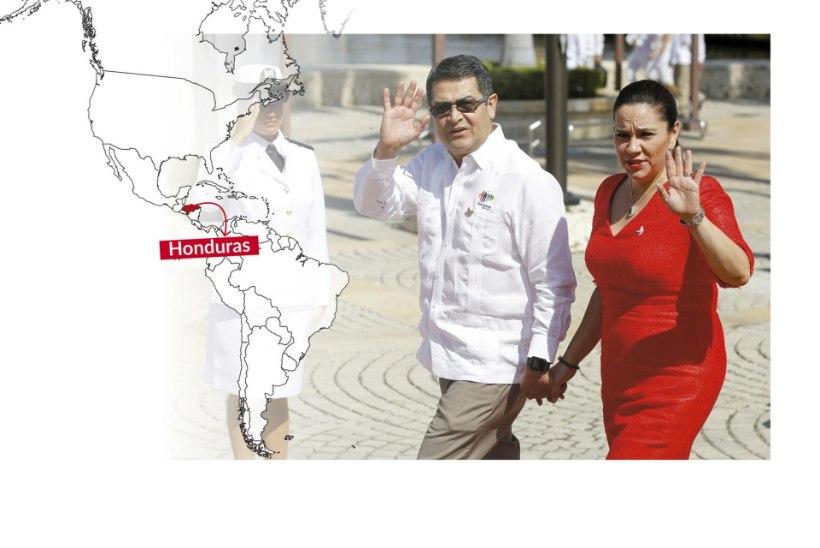 Hondurase esileedi sipleb skandaalide võrgus