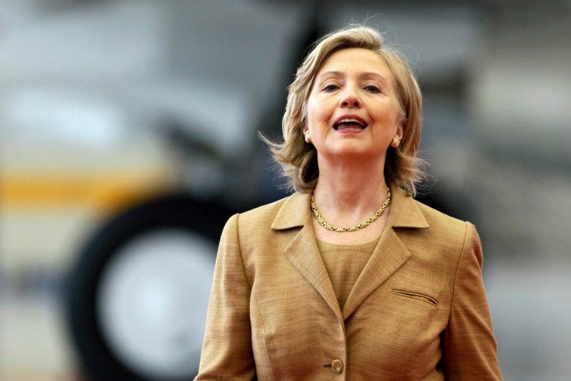Olge enesekindlad! Clinton tõestas taaskord, et naised ei vaja meiki