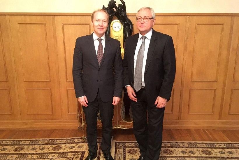Moskvas toimusid Eesti ja Venemaa välisministeeriumite vahelised konsultatsioonid