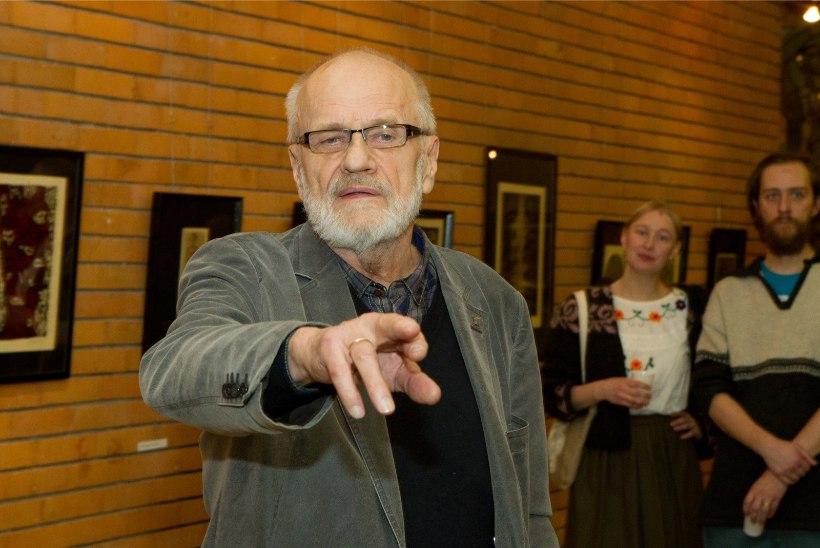 """GALERII   Avati Jüri Arraku juubelinäitus """"Graafikat ja eksliibriseid ANKi ajast"""""""