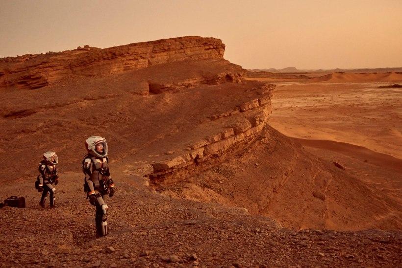 """""""Marsi"""" näitlejad pidid Maroko kõrbekuumuses otsad andma"""