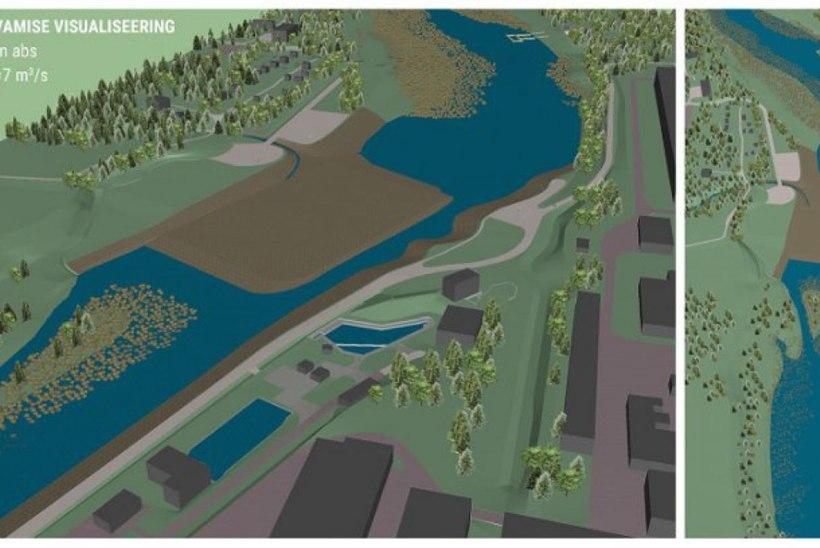 Keskkonnaagentuur tutvustab Sindi paisu värskelt valminud põhiprojekti