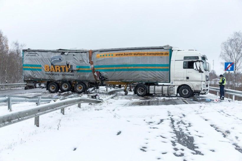Ootamatu lumi: üks hukkunu, kümme tõsisemat õnnetust