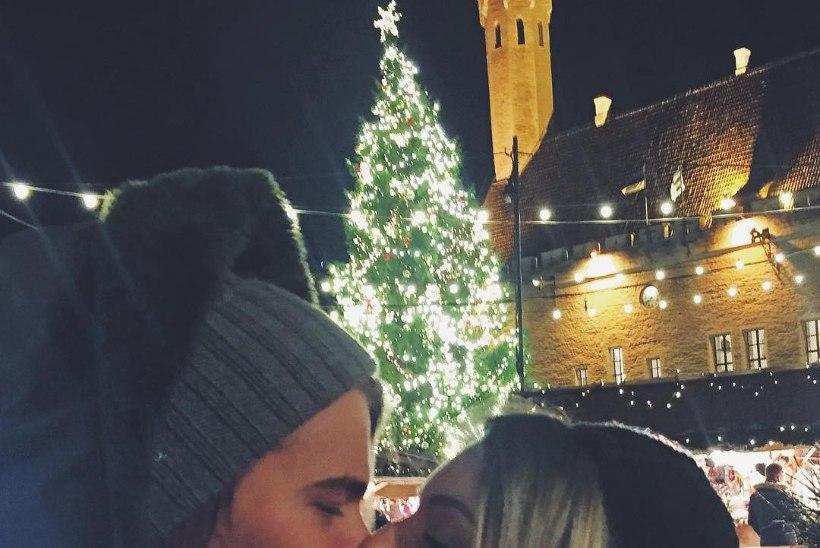 ARMAS FOTOJÄÄDVUSTUS! Daniel Levi naudib abikaasaga Tallinna jõuluturgu!