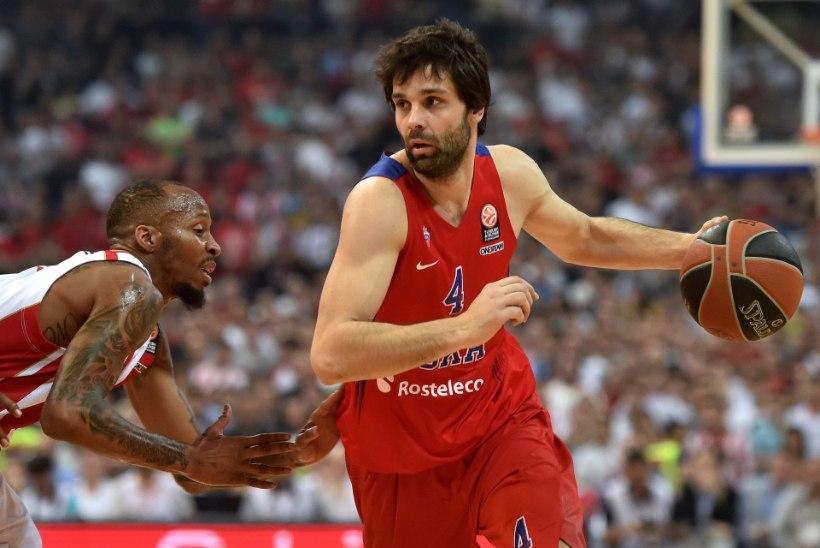Euroliiga meister CSKA täna Tallinnas, astumas sammukest veel ühe tiitli poole