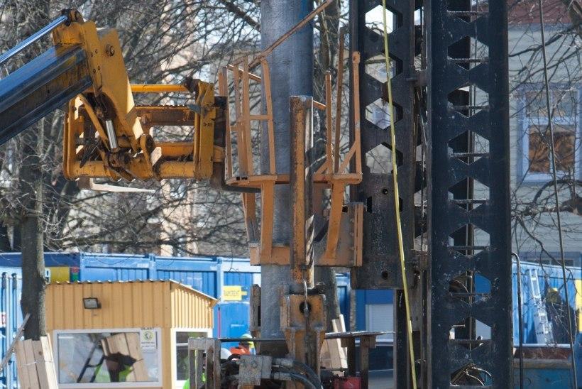 Ehitajad nagu otsiksid õnnetusi