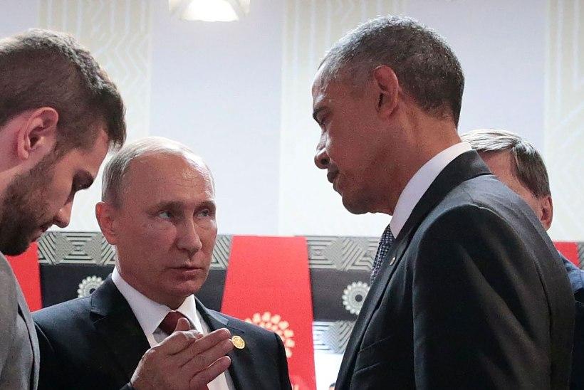PUTIN OBAMALE: oled Venemaale alati teretulnud