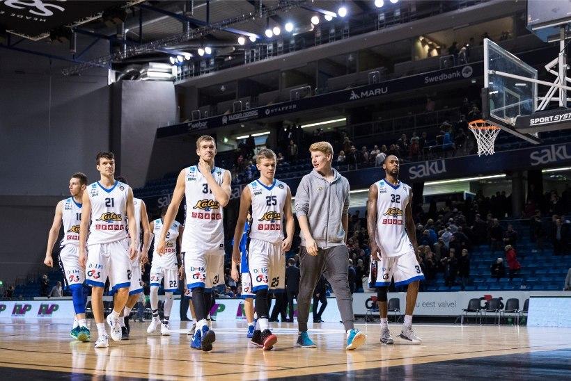 """GALERII   Euroopa korvpalli meisterklass Tallinnas: """"inimhobu"""" toel võiduni kapanud Moskva CSKA Cramole hõlpu ei andnud"""