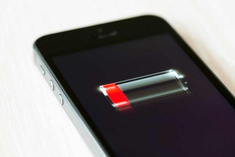 POLE VÄGA ÜLLATAV: telefoni akut kipub enim kurnama just see äpp ...