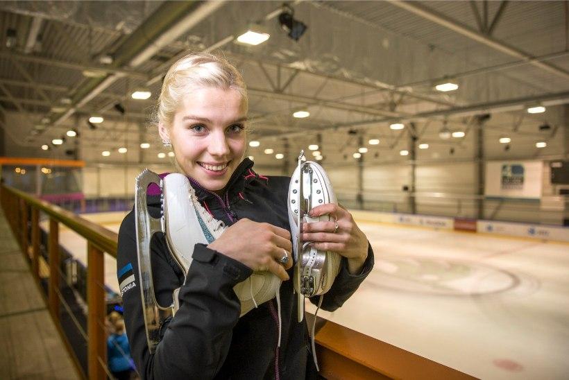 Hälvin ja Koppel uisutasid kodujääl isikliku rekordi