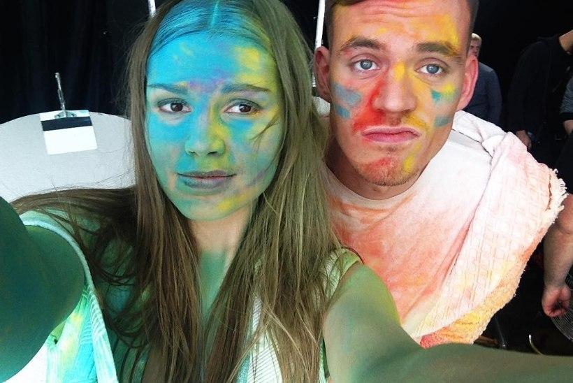 LÕBUS FOTO / NOËP ja Marie Vaigla pidasid värvisõda!