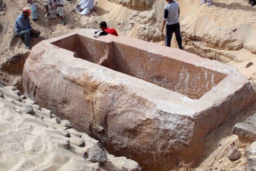 Arheoloogid avastasid Egiptusest iidse linna