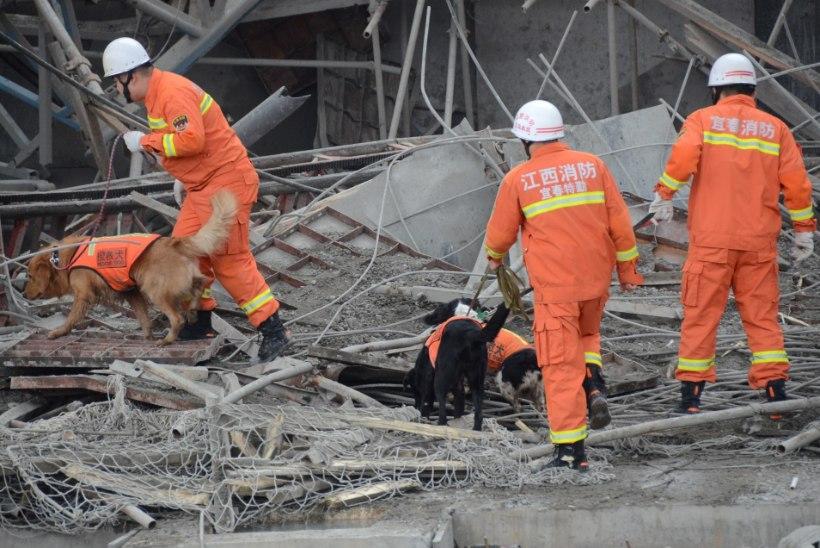 FOTOD | Hiinas hukkus elektrijaama ehitusel vähemalt 67 inimest