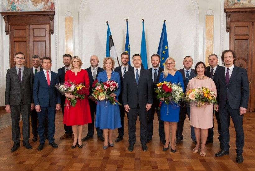 ALLKIRJAD KÕNELEVAD: millise iseloomuga on Jüri Ratase valitsuse uued ministrid?