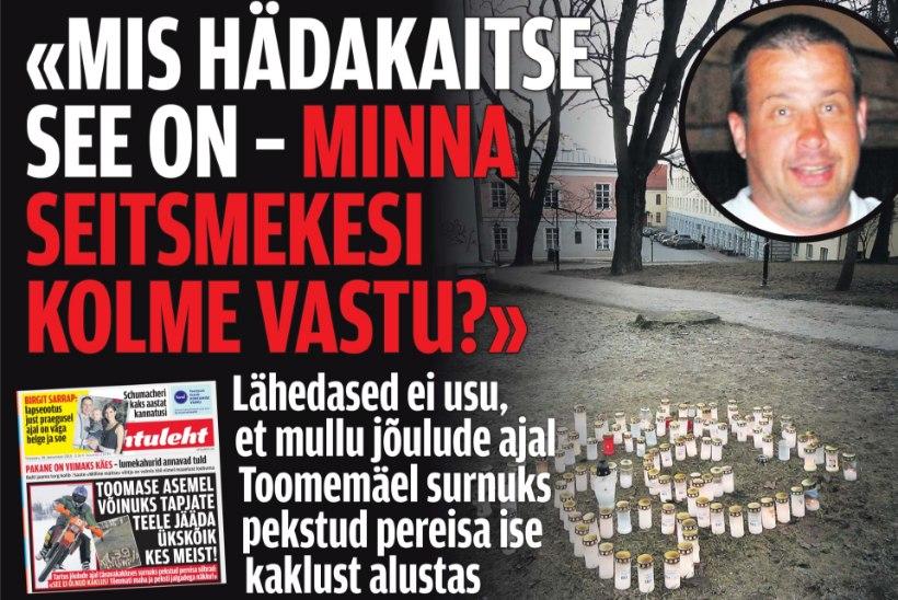 Tartus Toomemäel pereisa tapnud noorukid ei ületanud hädakaitse piiri