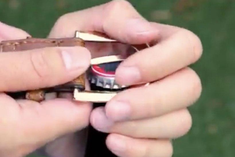 VIDEO! 6 nippi, kuidas saada pudel avajata lahti
