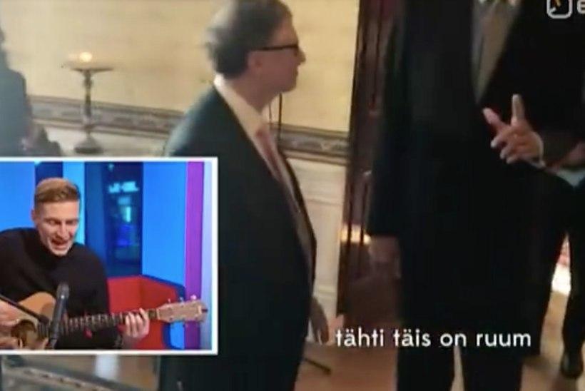 """LÕBUS VIDEO   Vaata, kuidas Karl-Erik Taukar """"Ringvaates"""" välisuudiseid LAULIS"""