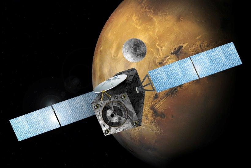 Uurimiskomisjon: Euroopa Marsi-maandur kihutas 540-kilomeetrise tunnikiirusega vastu planeeti
