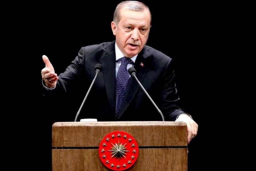 Erdoğan ähvardas põgenikele piirid avada