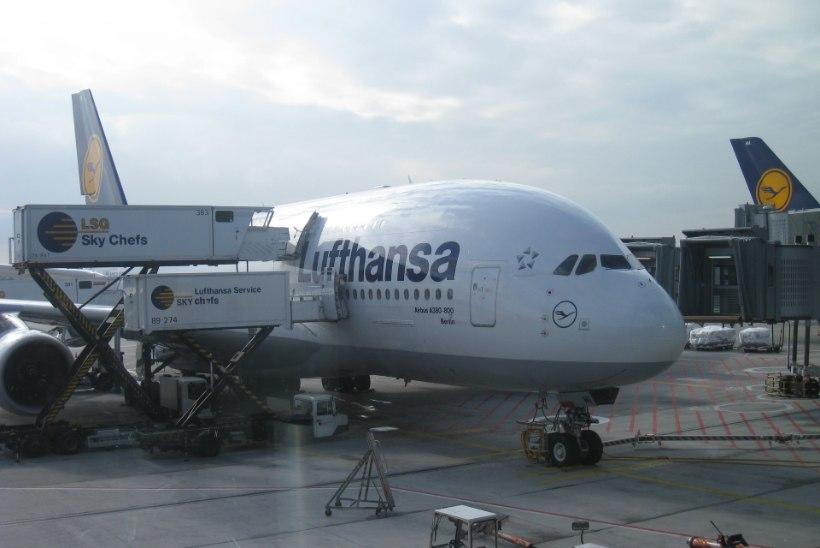 Lufthansa piloodid jätkavad streiki