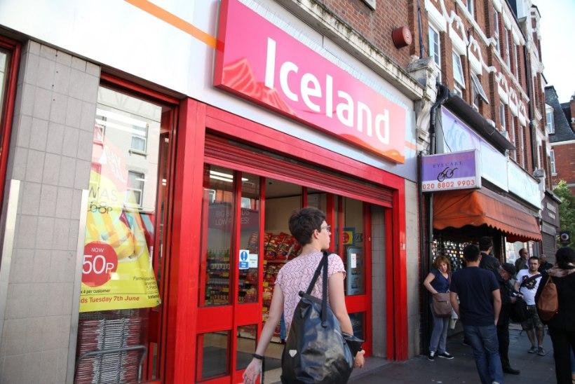 Island andis Briti toidupoodide keti kohtusse