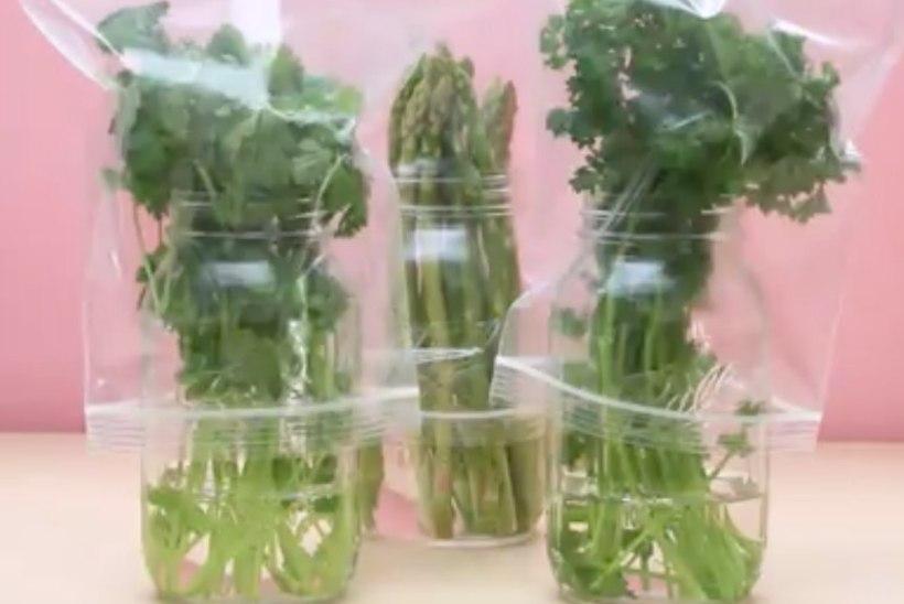 4 nippi, kuidas puu- ja köögiviljad kauem värsked püsivad