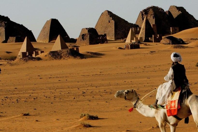 Millises riigis on kõige rohkem püramiide?
