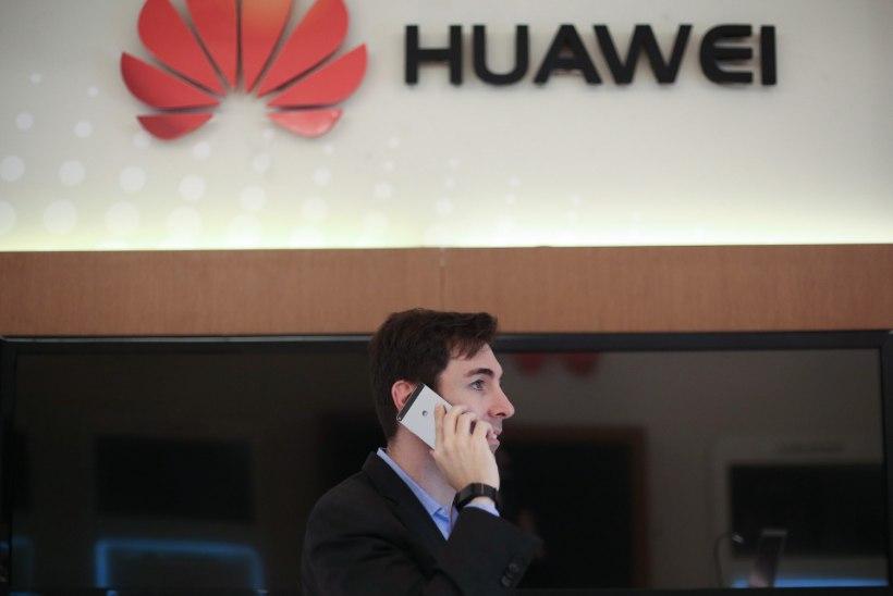 Huawei lõi Samsungi Androidide troonilt