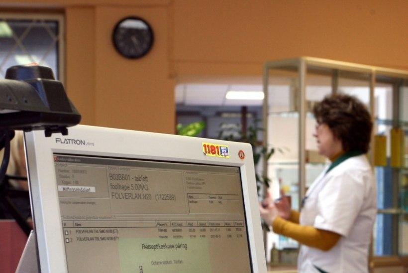 Plaanid apteeki minna? Täna esineb häireid digiretseptide töös!