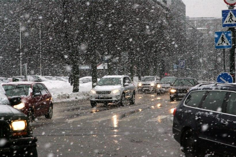 Tuleval nädalal kostitab ilmataat meid nii lume, lörtsi kui vihmaga