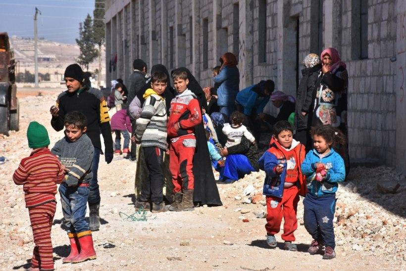 Tuhanded tsiviilelanikud on Aleppost põgenenud