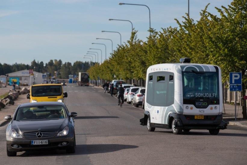 Tallinn saab isesõitvad bussid, aga vaid korraks